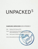 Samsung Galaxy S5 possibly unpacking in Feb